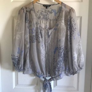 Express peasant blouse